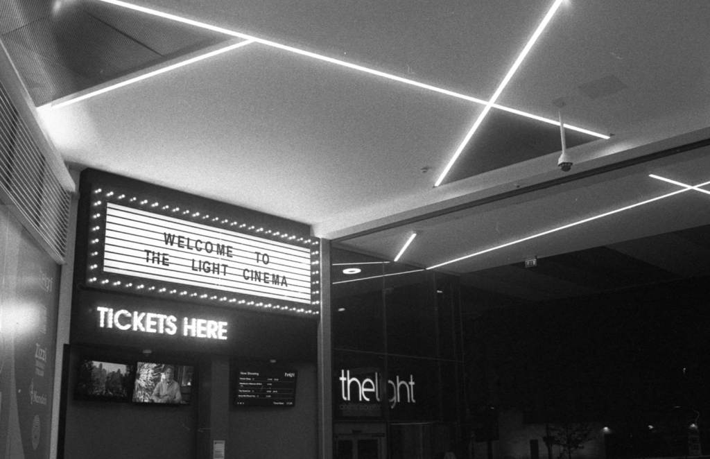 The Light Cinema welcome marquee In Sheffield